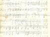 Партитура на химна от 1958 г. - 1 част